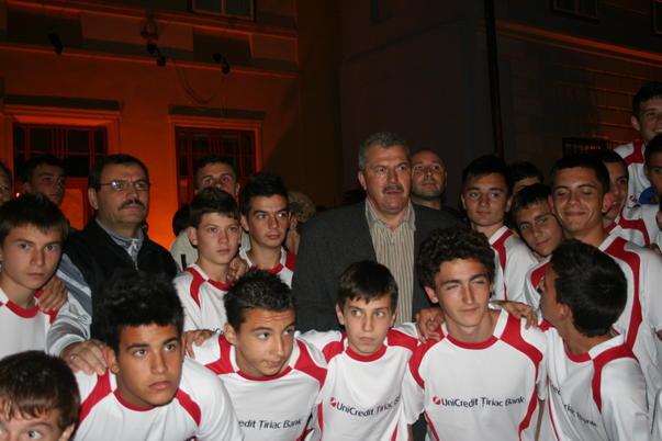 Duckadam si Centrul de Juniori Vointa Sibiu