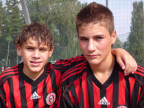 Marius Cocirla si Sebastian Steriu, apreciati la AC Milan
