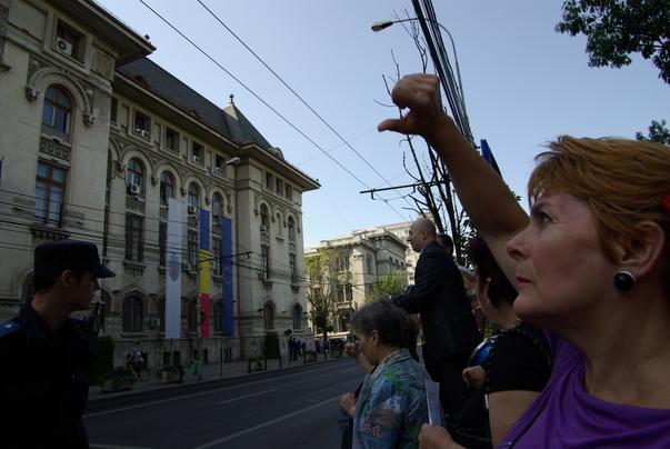 Protest in fata Primariei Bucuresti [4]