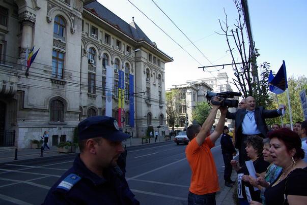 Protest in fata Primariei Bucuresti [3]