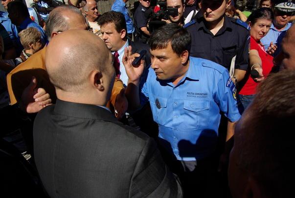 Protest in fata Primariei Bucuresti [1]
