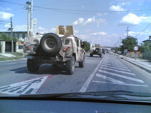 Romanian Army Humvee