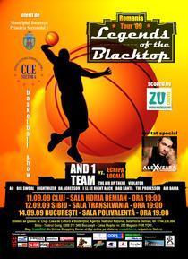 afis The Legends Of The Blacktop - Romania Tour '09