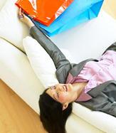 Relaxare dupa o zi de shopping