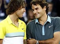 Federer, peste Nadal in 2010
