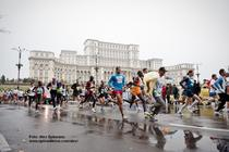 In cursa. Maratonul International Bucuresti