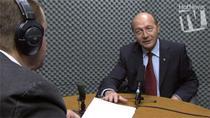 Traian Basescu in studioul HotNews.ro