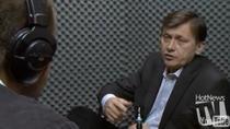 Crin Antonescu in studioul HotNews.ro