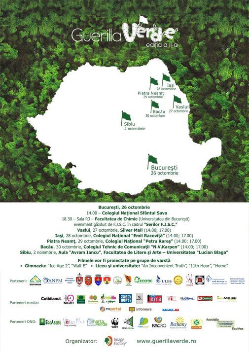 afis Guerilla Verde