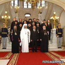 Traian Basescu si PF Daniel