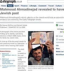 Ahmadinejad - evreu?