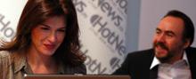 Monica Barladeanu si Bobby Paunescu in dialog cu cititorii