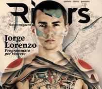 Jorge Lorenzo, pe coperta revistei Riders