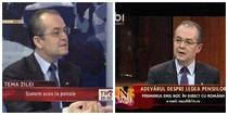 Emil Boc la TVR si B1TV