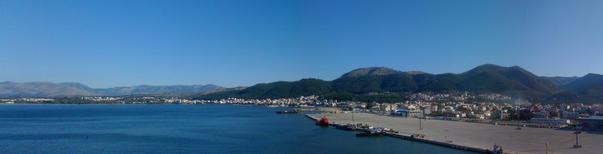 Panorama Igoumenitsa, din port