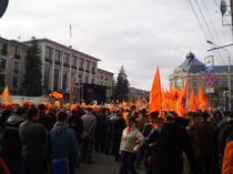 Miting pro-Basescu la Cluj