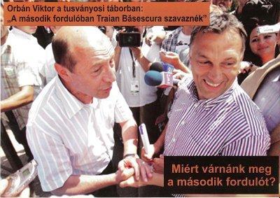 Fluturas al lui Basescu pt Secuime