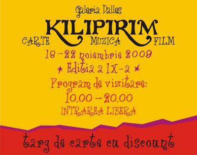 """Targul de carte, muzica, film """"KILIPIRIM"""""""