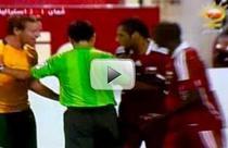 Atmosfera incinsa in partida Australia-Oman