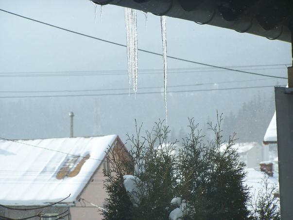 Da, vine iarna...