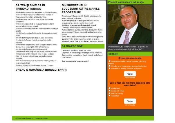 Cum ar trebui sa arate de fapt site-ul lui Basescu (2)