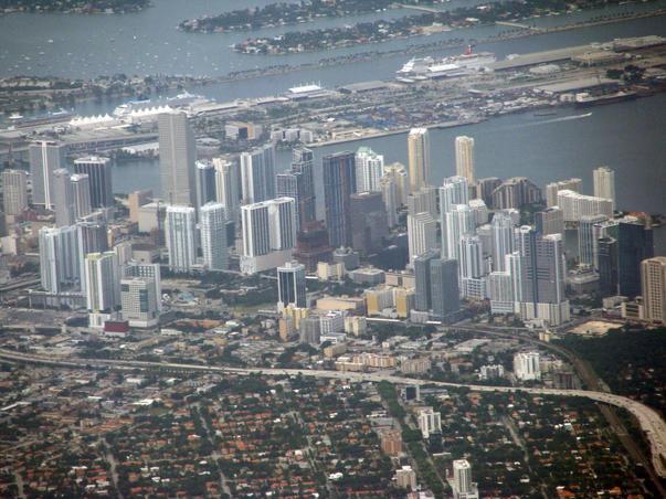 Inainte de aterizare - Miami, FL