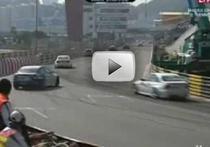 Accident pe circuitul de la Macau