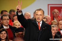 Mircea Geoana, dupa anuntarea rezultatelor in 2009