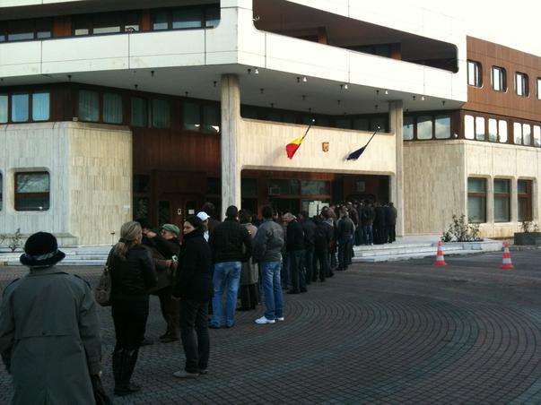 Votarea la Consulatul din Bonn