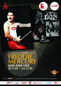 afis concert in memoria lui Freddie Mercury