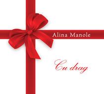 Alina Manole - Cu drag (coperta)