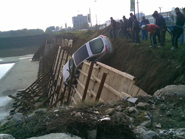 Accident in Pipera