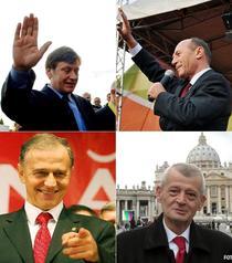 Antonescu, Basescu, Oprescu, Geoana