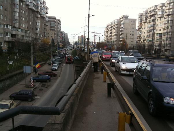 Accident in Cluj cu ocazia Zilei Nationale