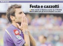 Mutu, pe prima pagina a ziarelor din Florenta