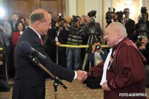 Traian Basescu si Ioan Vida
