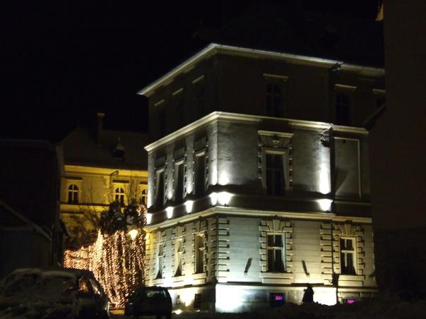 Un colt palatului administrativ (Primaria)