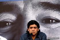 Maradona nu va insoti delegatia Argentinei la Cape Town