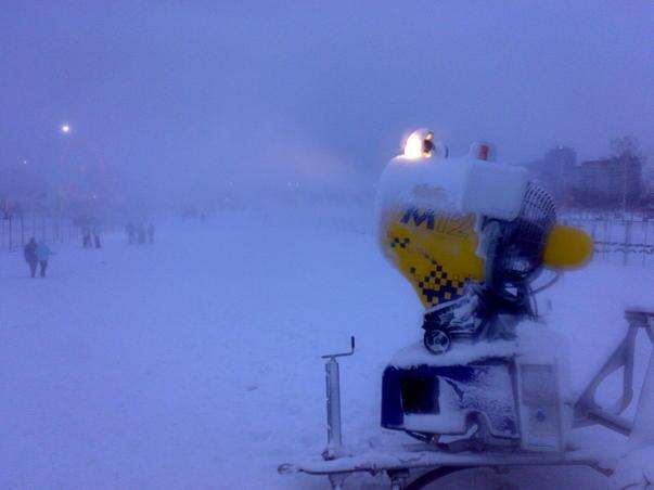 Partia de ski din sectorul 4 (2)