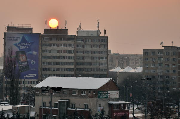 Apus de soare la Timisoara
