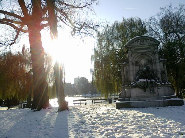 Iarna la Bruxelles