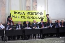 Adriean Videanu la audierile comisiilor parlamentare