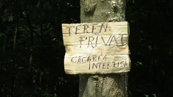 Protejati proprietatea privata !