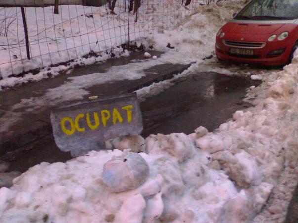 Jungla urbana - Sau cum se tine ocupat un loc de parcare (2)