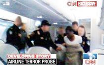 Momentul imobilizarii teroristului