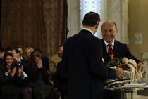 Galerie foto: Dezbatere finala Basescu - Geoana