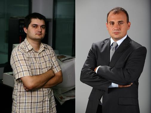 Lucian Davidescu si Radu Soviani