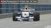 Michael Schumacher, din nou pe circuit