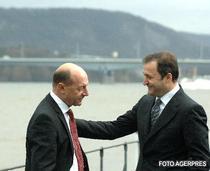 Traian Basescu si Vlad Filat