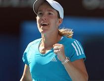 Justine Henin, in finala la Australian Open